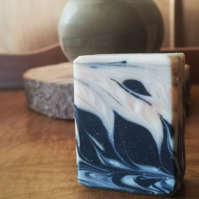 Rose & Clay Bar - With Activated Charcoal