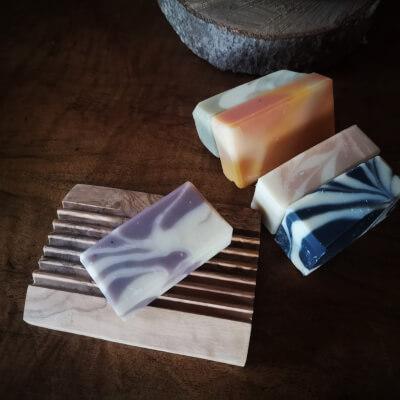Artisan Soap Starter Set With Dish