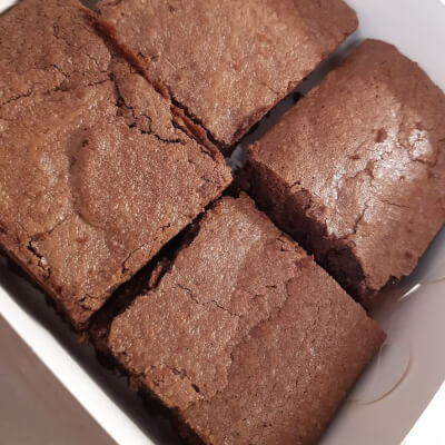 Chocolate Brownies Small Box Gf