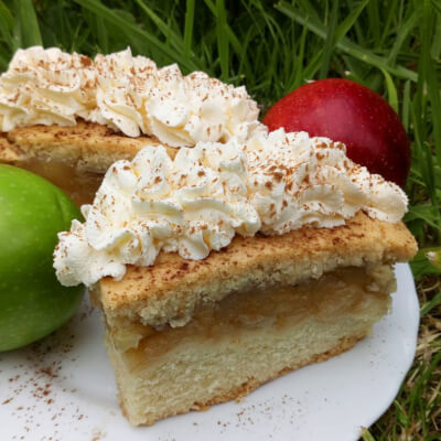 Apple Cake Slice