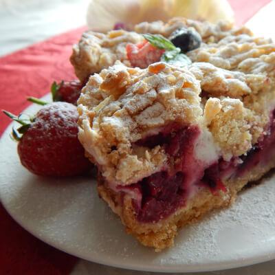 Merinqette Berry Shortcake / Kruszon