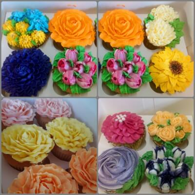 'Thank You/ Love You Cupcakes' Boxes Of 4/6/12