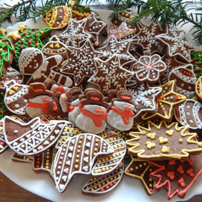 Selection Of Polish Pierniki 'Gingerbreads'