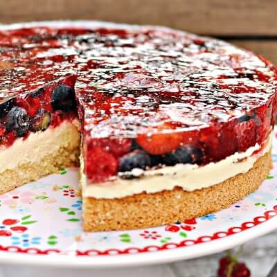 Strawberry Heaven Cake Slice