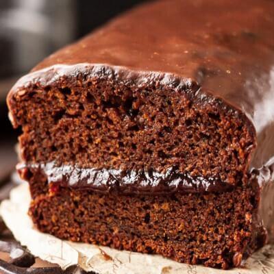 Gingerbread Cake/ Piernik Slice