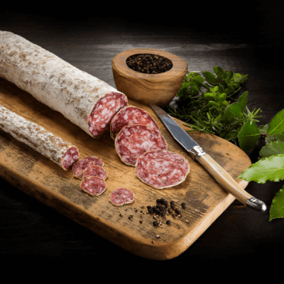 Black Pepper Salami Stick