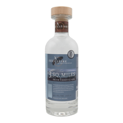 3 Sq. Miles Gin From Cape Clear Island Distillery