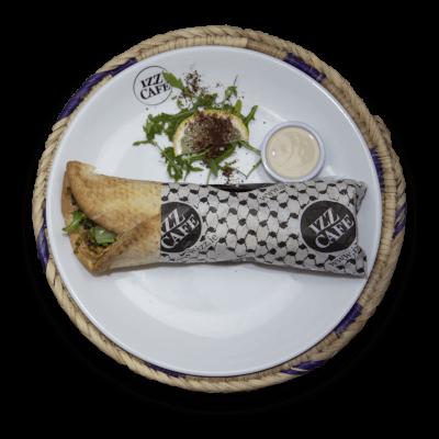 Manooshet Falafel - Wrap