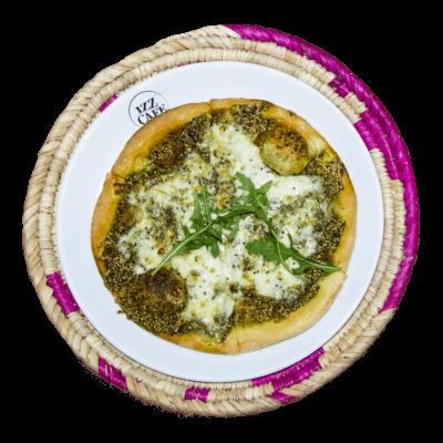 Man'ooshet Zaatar And Cheese