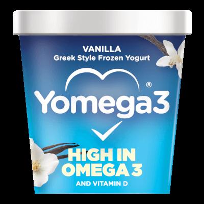Yomega3 Vanilla Frozen Yogurt