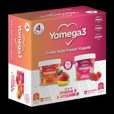 Yomega3 4Pk Mini Pot