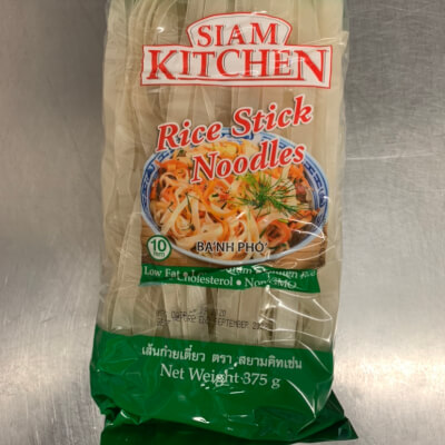 Flat Rice Noodles For Phad Thai (10Mm)
