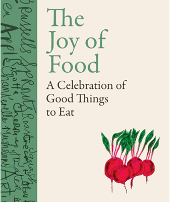 The Joy Of Food By Rory O'connell - Signed