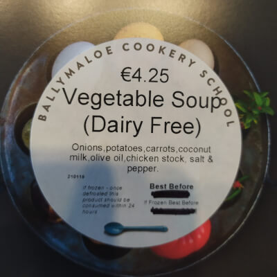 Vegetable Soup- Dairy Free