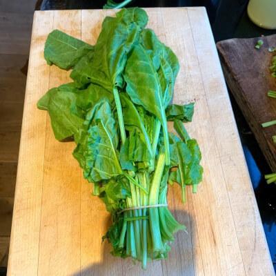 Bunch Of Organic Spinach, Plus Free Recipe