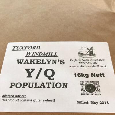 Bulk Sack Of Yq Wakelyns Population Flour (Tuxford Mill)