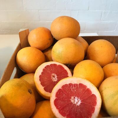 Pink Grapefruits (Unwaxed) Organic/ Biodynamic