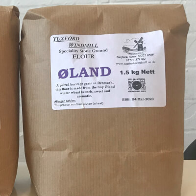 Bulk Sack Of Olands Wholemeal Flour (Tuxford Mill)