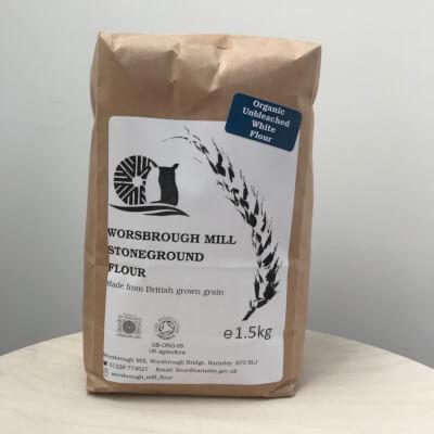Sifted (White) Stonemilled Organic Wheat - Worsborough Mill