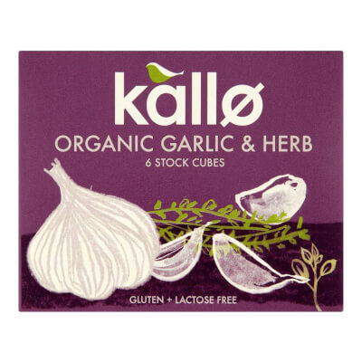 Organic Garlic & Herb Stock
