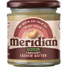 Meridian Organic Smooth Cashew Butter