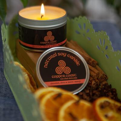 Soy Wax Candle 100Ml (Ylang Ylang & Sandalwood)