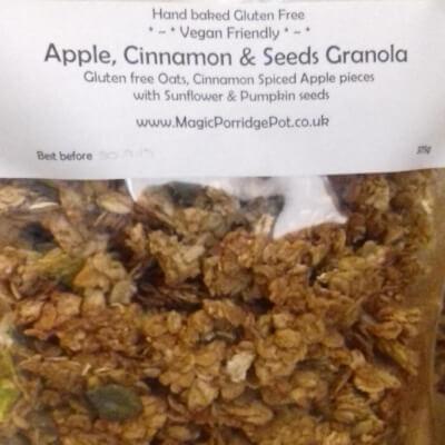 Gluten Free Granola Apple Cinnamon
