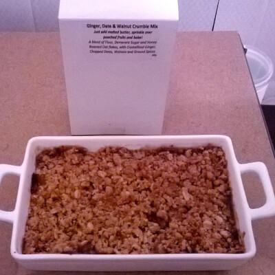 GLUTEN FREE Ginger Date Walnut CRUMBLE Mix 1 200 G