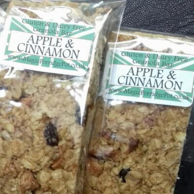 GRANOLA BAR Apple Cinnamon