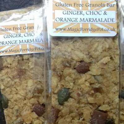 GRANOLA BAR Ginger Choc Orange