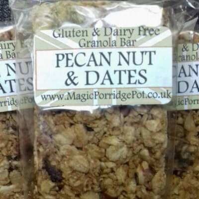 GRANOLA BAR Pecan Nut Dates