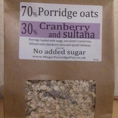 Porridge GLUTEN FREE Cranberry Sultana