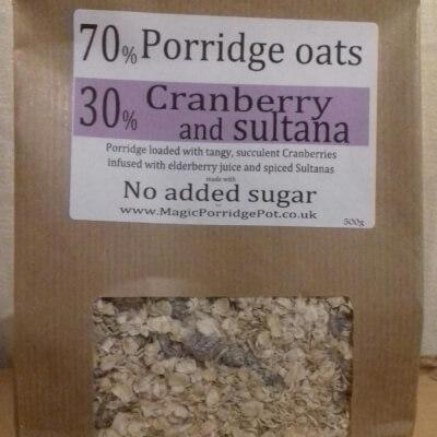 Porridge Cranberry Sultana