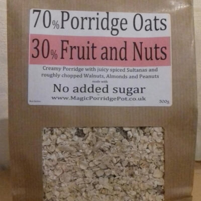 Porridge Fruit Nut