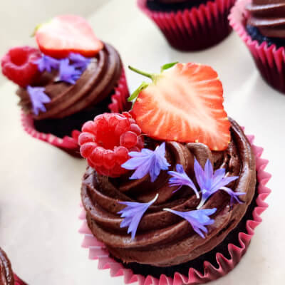 Vegan Chocolate Cupcakes (Box Of 6)