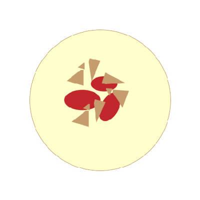 Raspberry White Chocolate Blondie