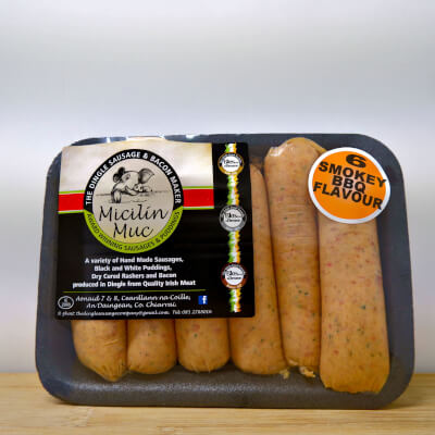 6 Bbq Flavoured Sausages