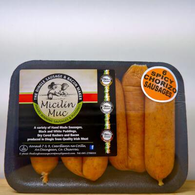 6 Chorizo Style Sausages