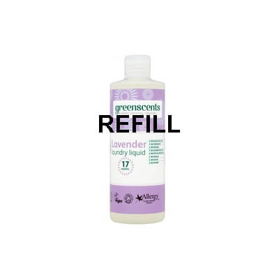 Greenscents Lavender Laundry Liquid Large Refill