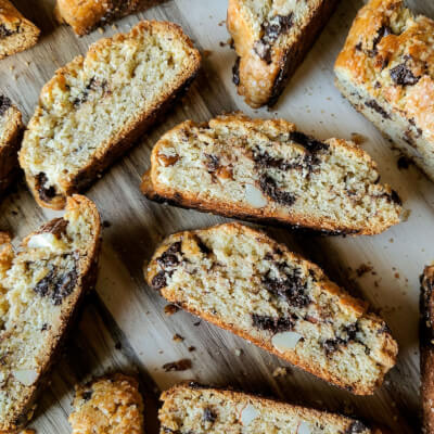 Chocolate Drops Cantucci