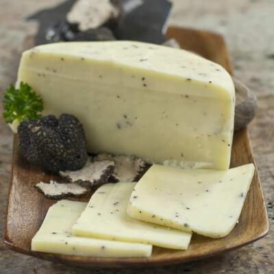 Truffle Pecorino (Sheep Cheese)