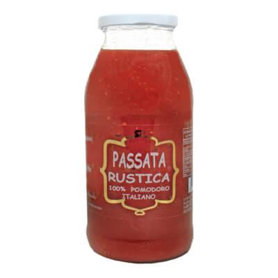 Rustic Passata With 100% Italian Tomatoes