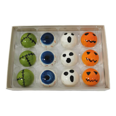 12 Chocolate Halloween Selection