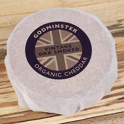 Godminster Smoked Organic Cheddar 200 G