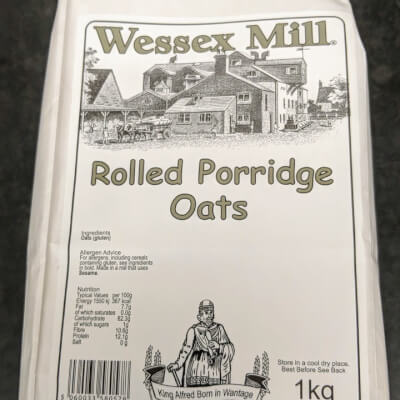 Wessex Mill Rolled Porridge Oats