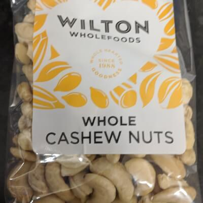Whole Cashew Nuts Unsalted