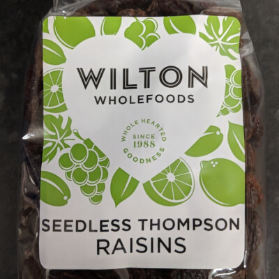 Seedless Thompson Raisins