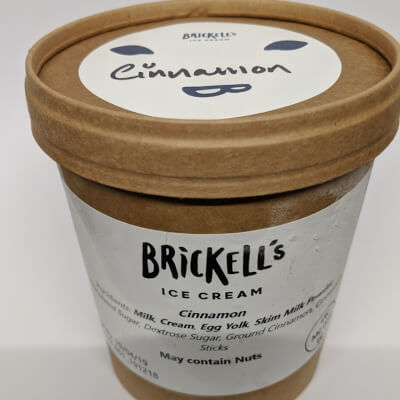 Brickell's Cinnamon Ice Cream