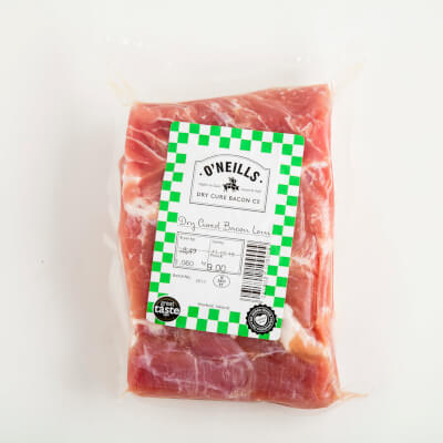 O Neills Dry Cure Back Bacon Joint 860G