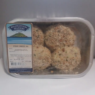Fish Cakes X 4